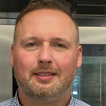 Anthony Pettit, sales manager, Convotherm Focus Team