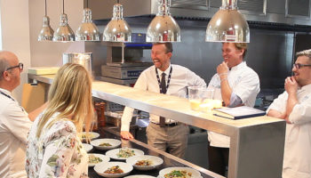 NHS chef mentoring event at First Choice Group HQ