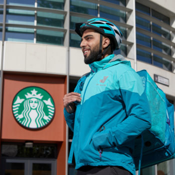 Starbucks Deliveroo partnership